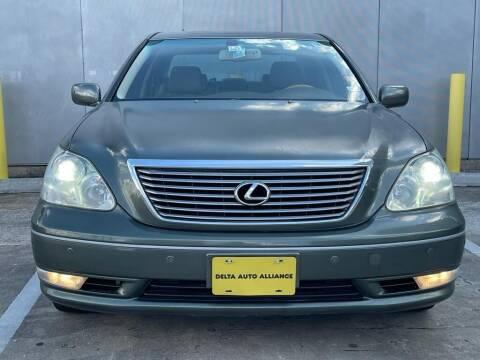 2004 Lexus LS 430 for sale at Delta Auto Alliance in Houston TX