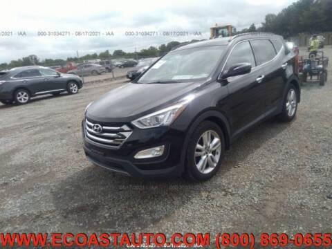 2014 Hyundai Santa Fe Sport for sale at East Coast Auto Source Inc. in Bedford VA