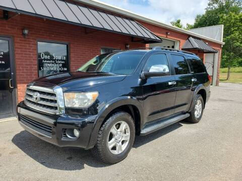 2008 Toyota Sequoia for sale at One Source Automotive Solutions in Braselton GA