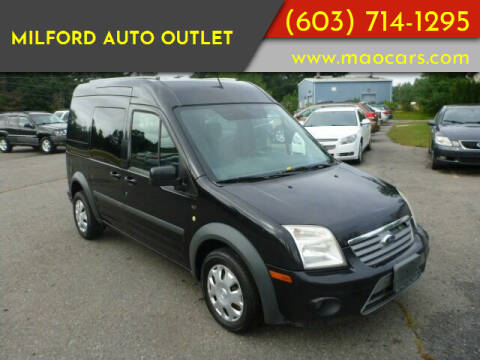 2011 Ford Transit Connect for sale at Milford Auto Outlet in Milford NH