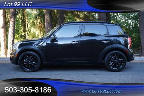 2011 MINI Cooper Countryman for sale at LOT 99 LLC in Milwaukie OR