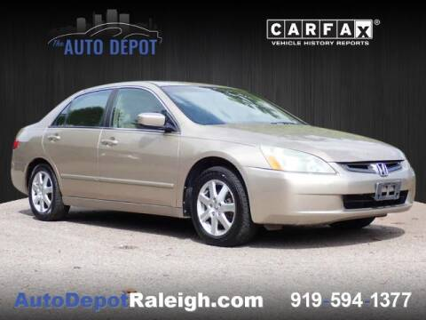 2005 Honda Accord for sale at The Auto Depot in Raleigh NC
