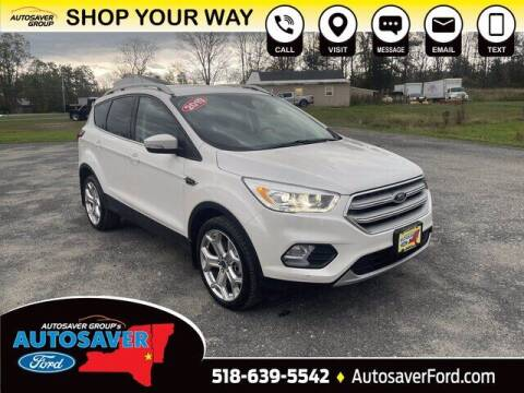 2019 Ford Escape for sale at Autosaver Ford in Comstock NY