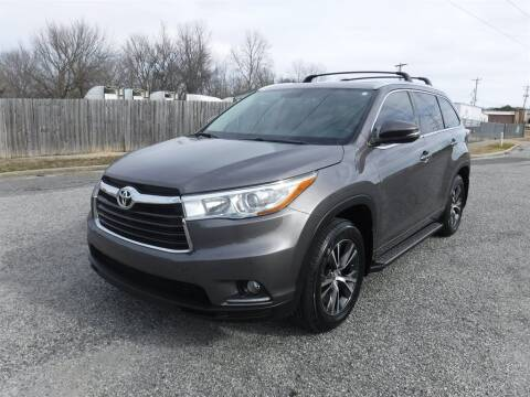 2016 Toyota Highlander for sale at Memphis Truck Exchange in Memphis TN