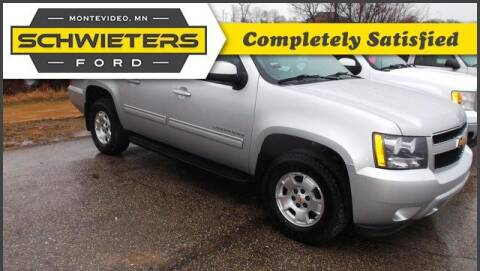 2012 Chevrolet Suburban for sale at Schwieters Ford of Montevideo in Montevideo MN