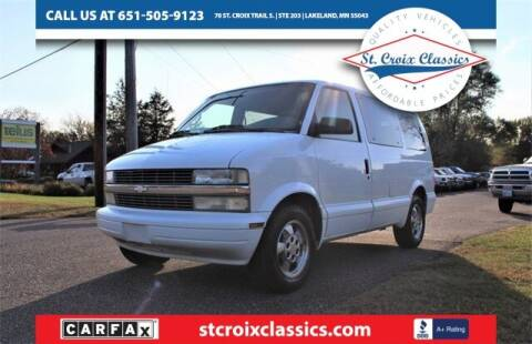 2003 Chevrolet Astro for sale at St. Croix Classics in Lakeland MN
