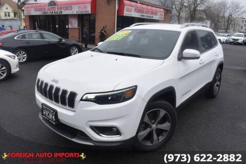 2019 Jeep Cherokee for sale at www.onlycarsnj.net in Irvington NJ