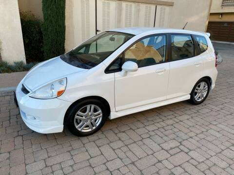 2007 Honda Fit for sale at California Motor Cars in Covina CA