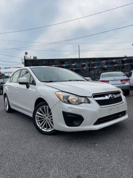 2012 Subaru Impreza for sale at Auto Budget Rental & Sales in Baltimore MD