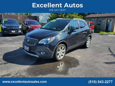 2015 Buick Encore for sale at Excellent Autos in Amsterdam NY