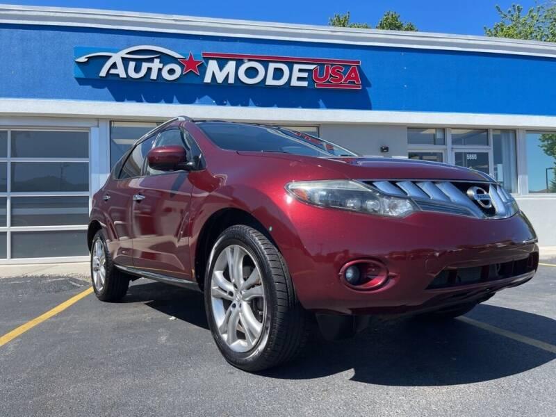 2009 Nissan Murano for sale at AUTO MODE USA in Burbank IL