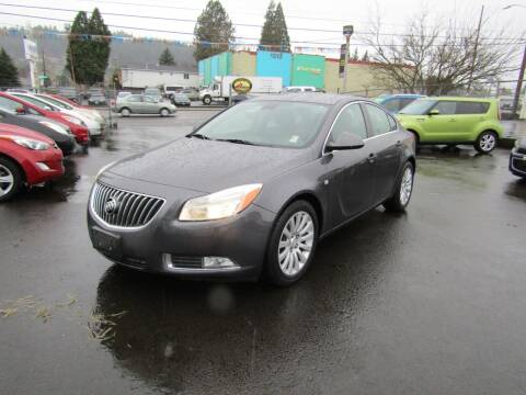 2011 Buick Regal for sale at ARISTA CAR COMPANY LLC in Portland OR