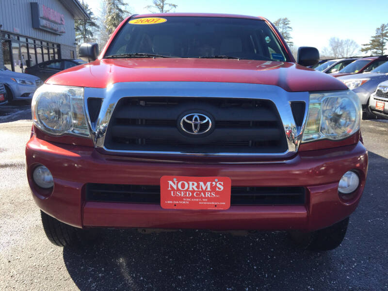 2007 Toyota Tacoma for sale at NORM'S USED CARS INC - Trucks By Norm's in Wiscasset ME