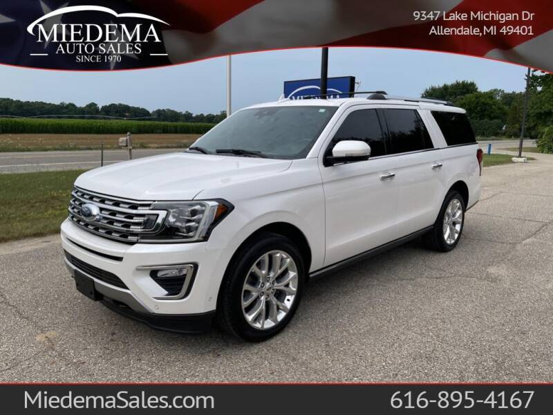 2018 Ford Expedition MAX for sale at Miedema Auto Sales in Allendale MI