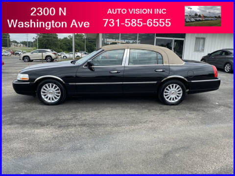 2003 Lincoln Town Car for sale at Auto Vision Inc. in Brownsville TN