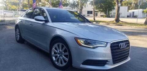 2014 Audi A6 for sale at CAR UZD in Miami FL
