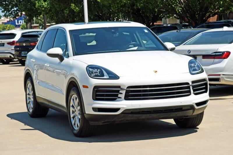 2020 Porsche Cayenne for sale at Silver Star Motorcars in Dallas TX