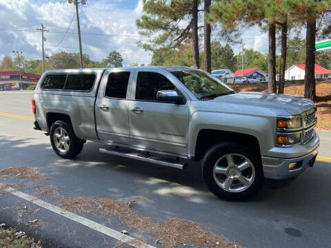 2015 Chevrolet Silverado 1500 for sale at THE AUTO FINDERS in Durham NC