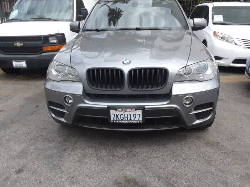 2012 BMW X5 for sale at Western Motors Inc in Los Angeles CA