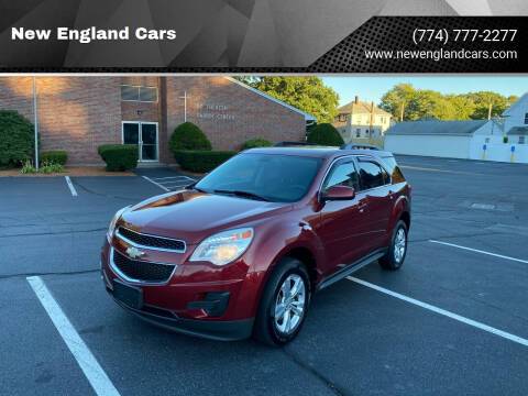 2011 Chevrolet Equinox for sale at New England Cars in Attleboro MA