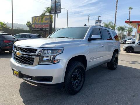 2015 Chevrolet Tahoe for sale at Mac Auto Inc in La Habra CA