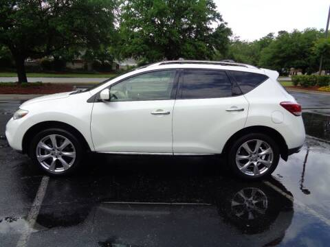 2012 Nissan Murano for sale at BALKCUM AUTO INC in Wilmington NC