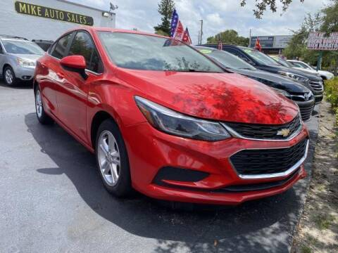 2018 Chevrolet Cruze for sale at Mike Auto Sales in West Palm Beach FL