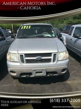 2002 Ford Explorer Sport Trac for sale at American Motors Inc. - Cahokia in Cahokia IL