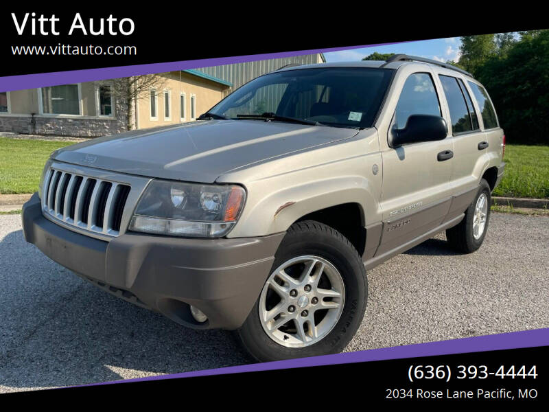 2004 Jeep Grand Cherokee for sale at Vitt Auto in Pacific MO