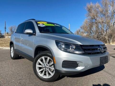 2017 Volkswagen Tiguan for sale at UNITED Automotive in Denver CO