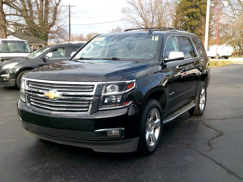 2016 Chevrolet Tahoe for sale at Stoltz Motors in Troy OH