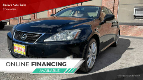 2008 Lexus IS 250 for sale at Rocky's Auto Sales in Worcester MA