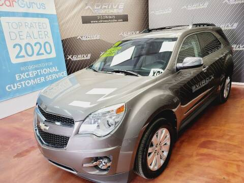 2011 Chevrolet Equinox for sale at X Drive Auto Sales Inc. in Dearborn Heights MI