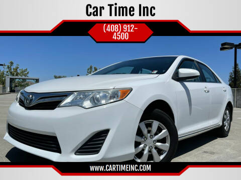 2014 Toyota Camry for sale at Car Time Inc in San Jose CA