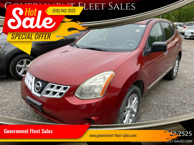 2011 Nissan Rogue for sale at Government Fleet Sales - Buy Here Pay Here in Kansas City MO