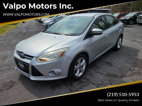 2012 Ford Focus for sale at Valpo Motors Inc. in Valparaiso IN