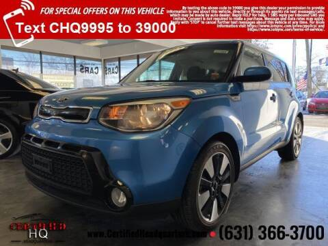 2016 Kia Soul for sale at CERTIFIED HEADQUARTERS in St James NY
