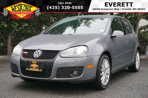 2007 Volkswagen GTI for sale at West Coast Auto Works in Edmonds WA