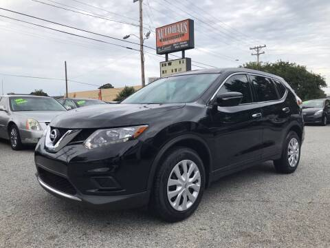 2015 Nissan Rogue for sale at Autohaus of Greensboro in Greensboro NC