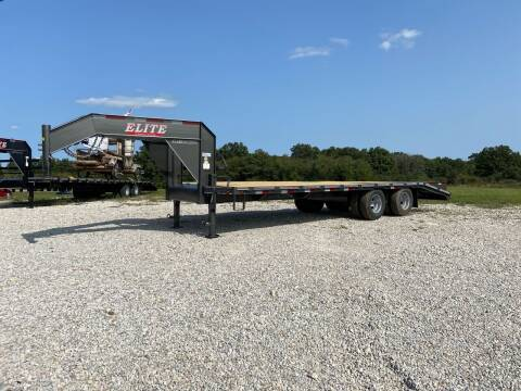 2021 Elite 25' Low Pro Deck Over Goosenec for sale at Ken's Auto Sales & Repairs in New Bloomfield MO