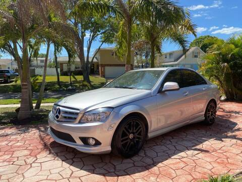 2008 Mercedes-Benz C-Class for sale at ONYX AUTOMOTIVE, LLC in Largo FL