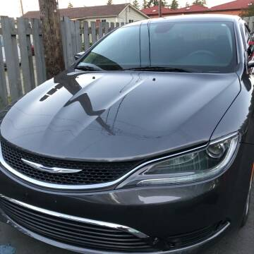 2016 Chrysler 200 for sale at ALHAMADANI AUTO SALES in Spanaway WA