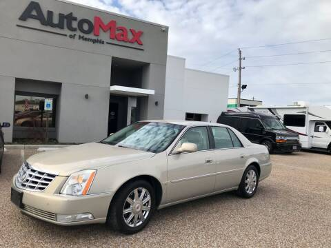 2008 Cadillac DTS for sale at AutoMax of Memphis in Memphis TN