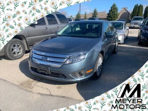 2012 Ford Fusion Hybrid for sale at Meyer Motors in Plymouth WI