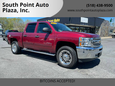 2013 Chevrolet Silverado 1500 for sale at South Point Auto Plaza, Inc. in Albany NY