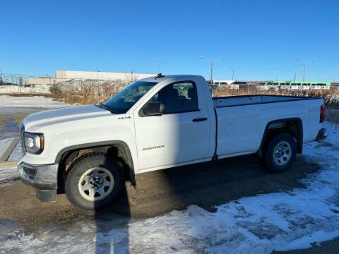 2017 GMC Sierra 1500 for sale at Canuck Truck in Magrath AB