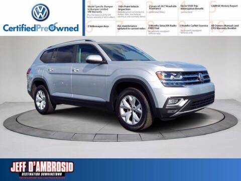 2018 Volkswagen Atlas for sale at Jeff D'Ambrosio Auto Group in Downingtown PA