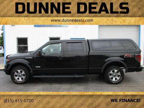 2014 Ford F-150 for sale at Dunne Deals in Crystal Lake IL