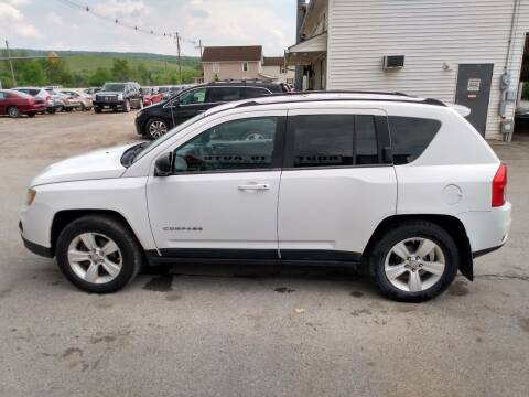 2011 Jeep Compass for sale at ROUTE 119 AUTO SALES & SVC in Homer City PA