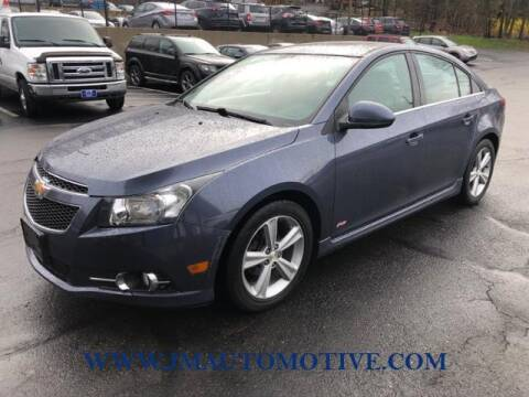 2014 Chevrolet Cruze for sale at J & M Automotive in Naugatuck CT